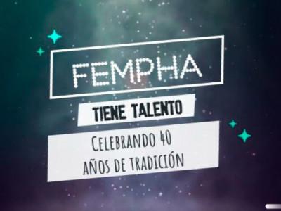 Concurso FEMPHA TIENE TALENTO