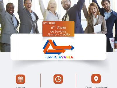 6a Feria de Servicios, Ahorro y Crédito FEMPHA AVANZA